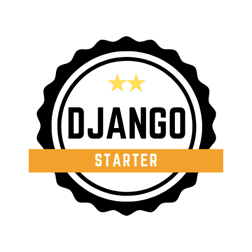 django badge starter