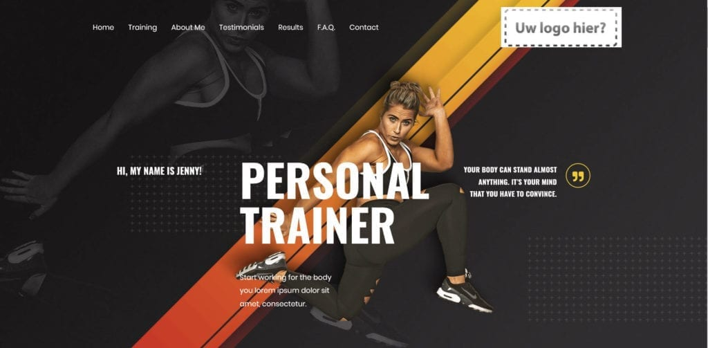Personal Trainer 2 Django Website