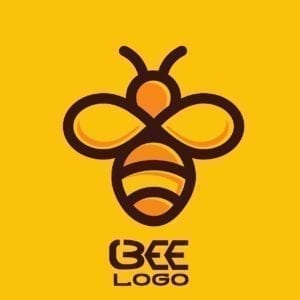 bee, logo, icon